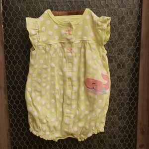 Carter's Baby Girls Romper 6 month